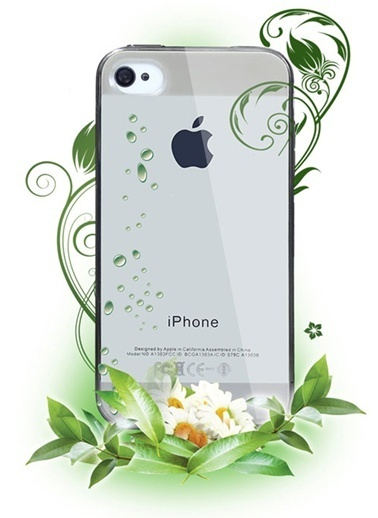 Microsonic iPhone  4S Clear Soft Şeffaf Kılıf Renkli